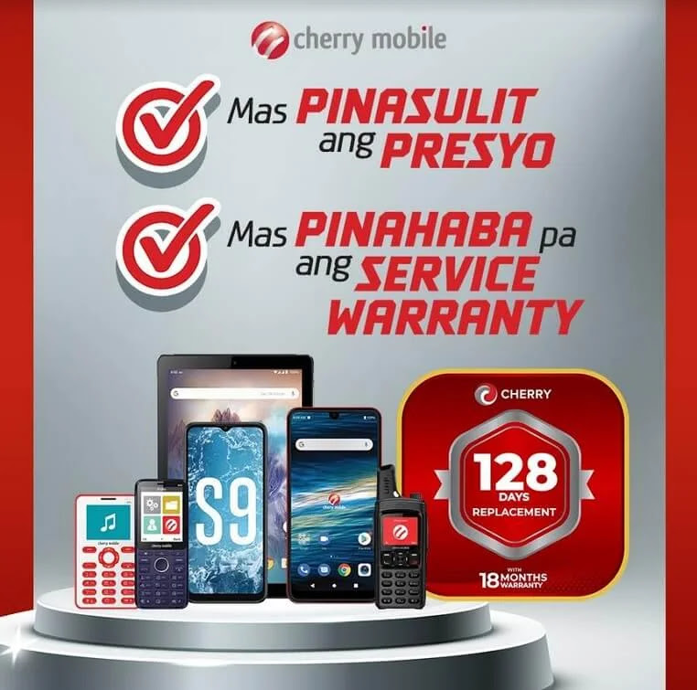Cherry Mobile Replacement Warranty Now 128 Days