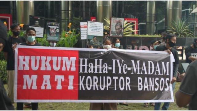 Tuntutan GIB: Periksa Herman Hery dan Ihsan Yunus, Hukum Mati Juliari Beserta Kroninya!