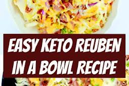 Easy Keto Reuben in a Bowl Recipe #keto #reuben #ketorecipes #easyrecipes