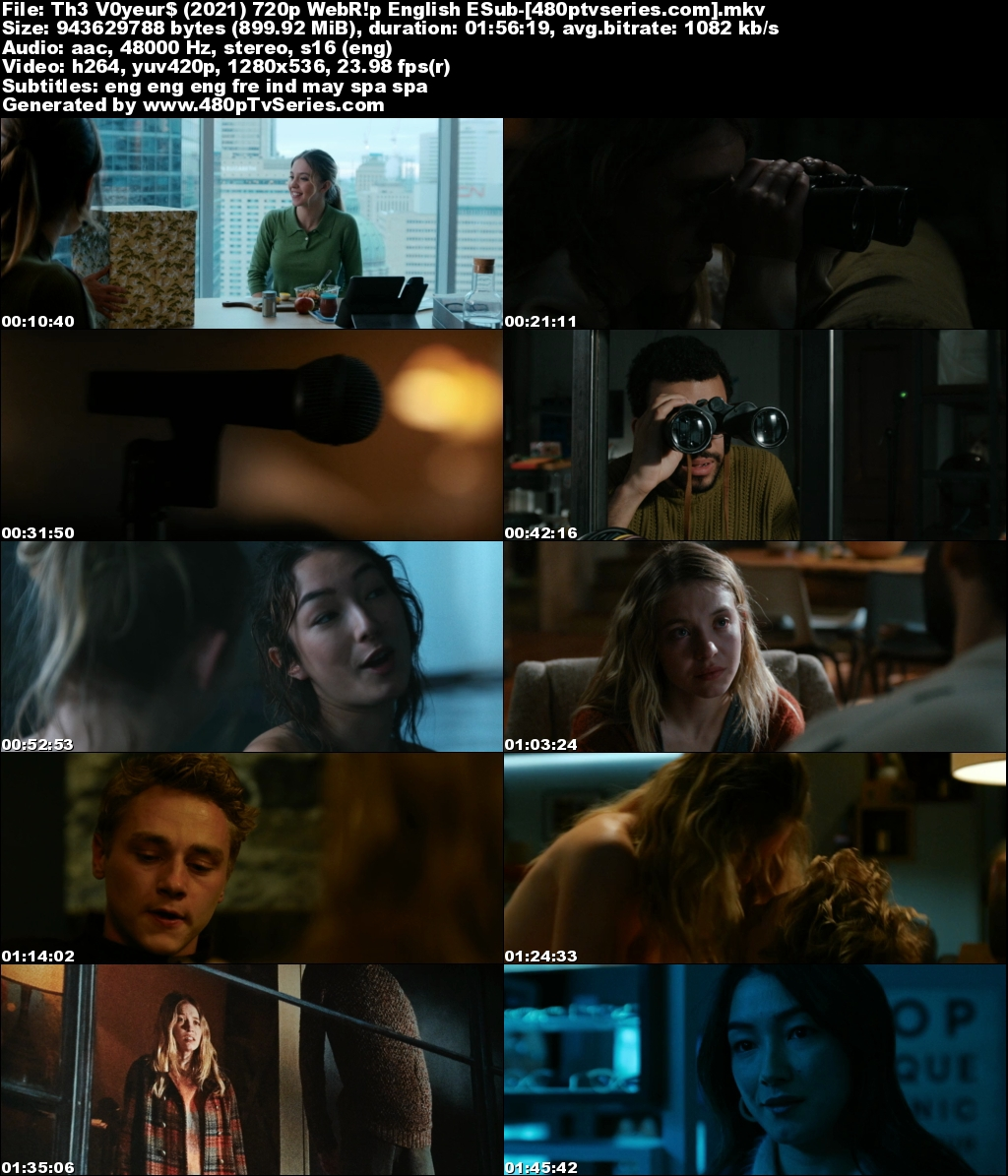 Download The Voyeurs (2021) 900MB Full English Download 720p Web-DL Free Watch Online Full Movie Download Worldfree4u 9xmovies