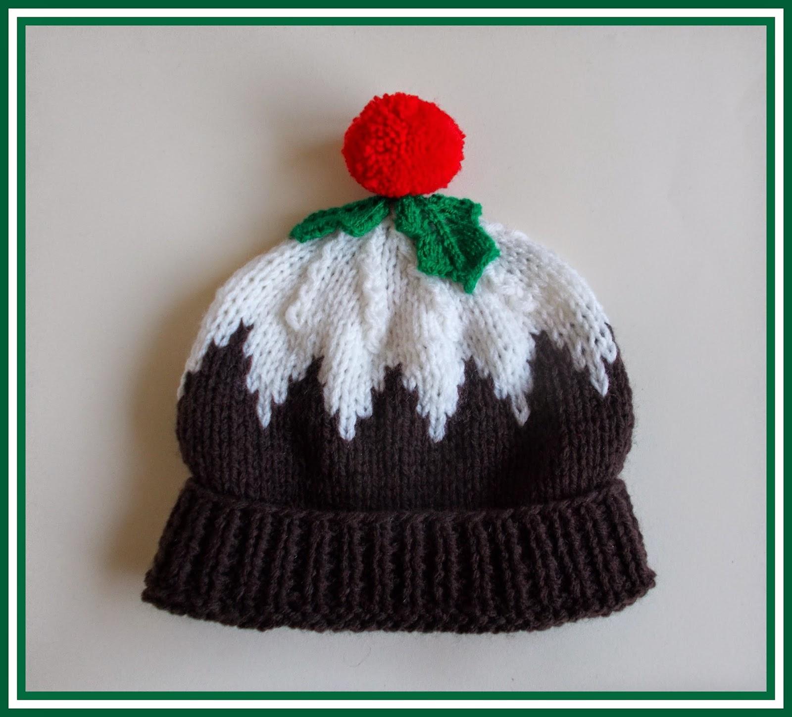 5de10da0b8c Marianna s Lazy Daisy Days  Christmas Pudding Hat