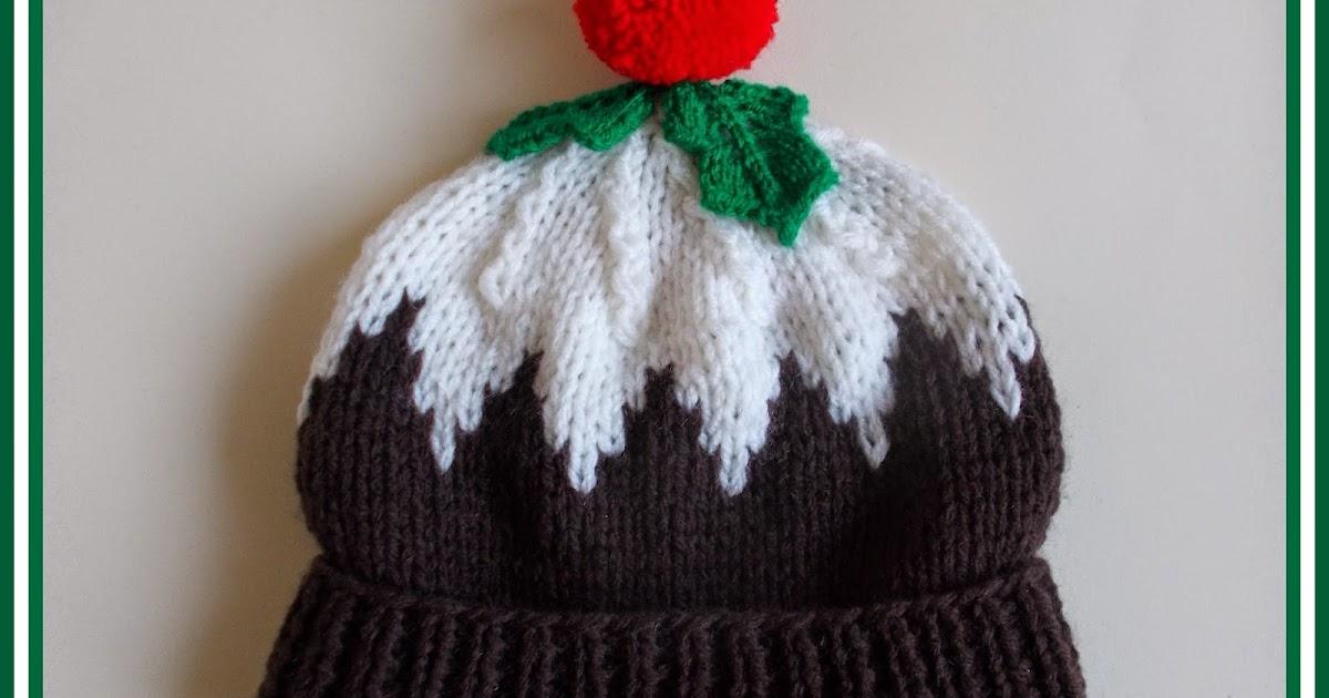 Mariannas Lazy Daisy Days Christmas Pudding Hat
