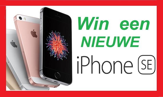 Win een NIEUWE iPhone SE 2017