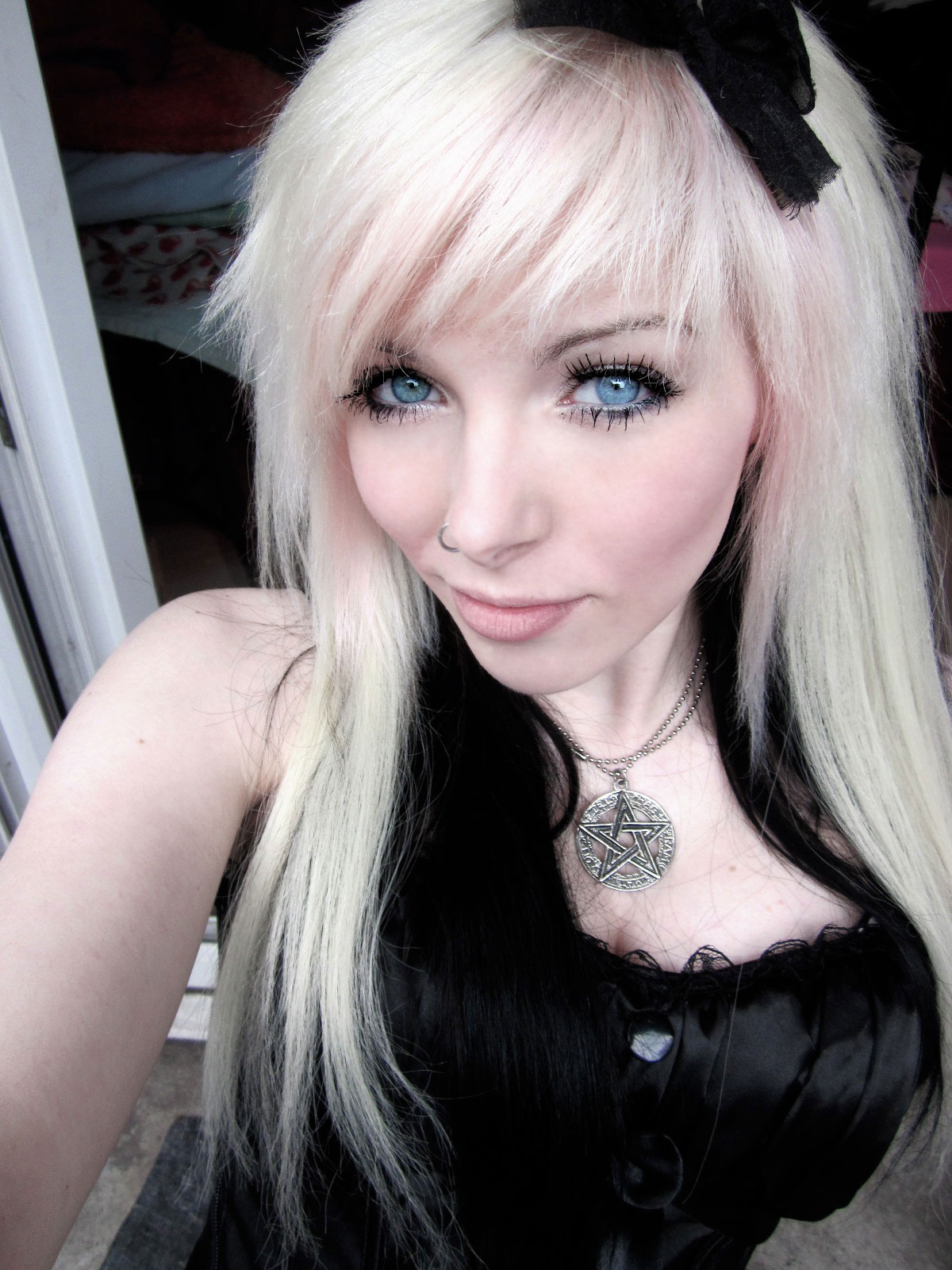 Emo Black And Blonde Hair 36