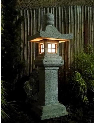 jardim japones, jardim Japonês, escultura em pedra