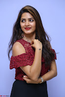 Pavani Gangireddy in Cute Black Skirt Maroon Top at 9 Movie Teaser Launch 5th May 2017  Exclusive 049.JPG