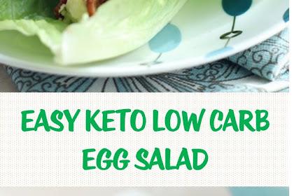 Easy Keto Low Carb Egg Salad
