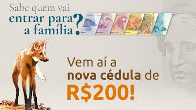 A polêmica nota de 200,00 reais