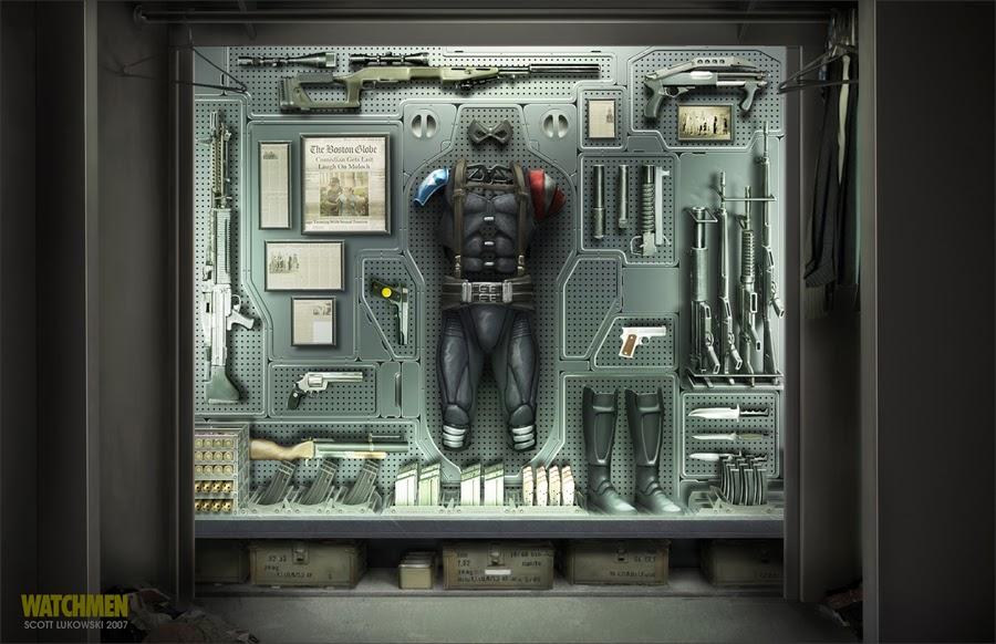 Watchmen And Transformers Concept Art By Scott Lukowski