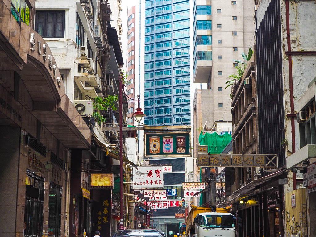 Sheung Wan skyscrapers