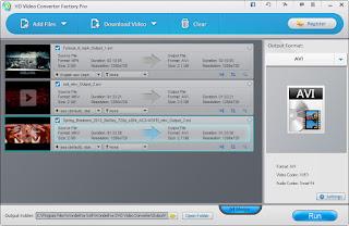 تنزيل برنمج تحويل الفيديو الى صوت للكمبيوتر HD Video Converter Factory