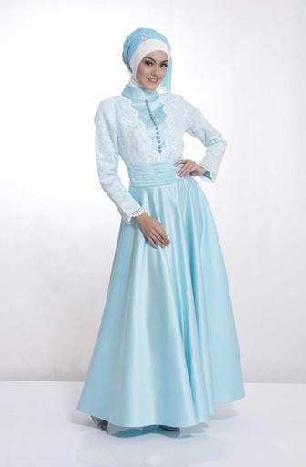 Model Gaun Kebaya Gamis Untuk Muslimah Cantik Dan Modis
