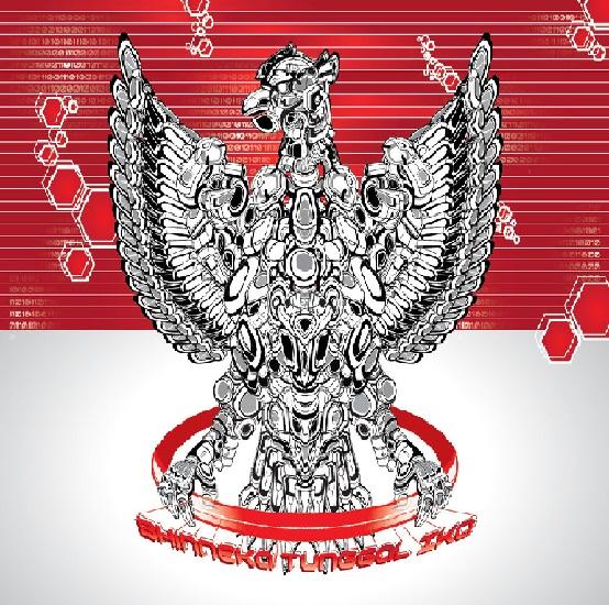 7 Konsep Robot Garuda Pancasila