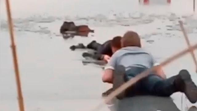 Артем спас провалившегося под лёд мальчика! Он мог погибнуть, но он не думал об этом