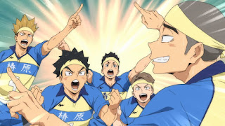 Hellominju.com : ハイキュー!! アニメ  椿原学園高校バレー部 キャプテン 越後栄 | Echigo Sakae | Haikyū!! Captains PROFILE  | Hello Anime !