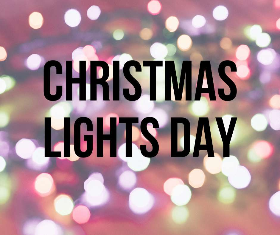 National Christmas Lights Day Wishes For Facebook