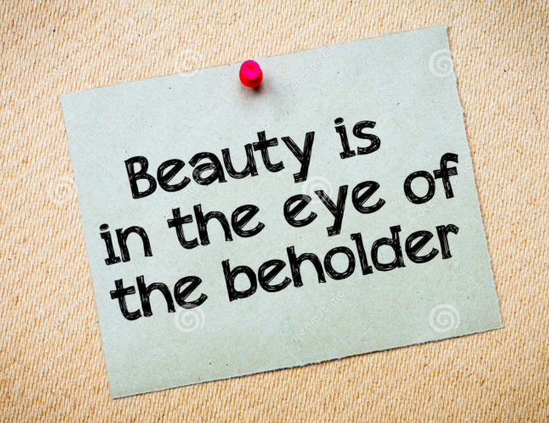 beauty is in the eye of the beholder argumentative essay Beauty: the eye of the beholder beauty is apparent in the moment in time we recognize it the bases of its perception is not clearly defined by a skeleton pattern, but rather hidden within the recesses of our minds derived from the façades of what we love.