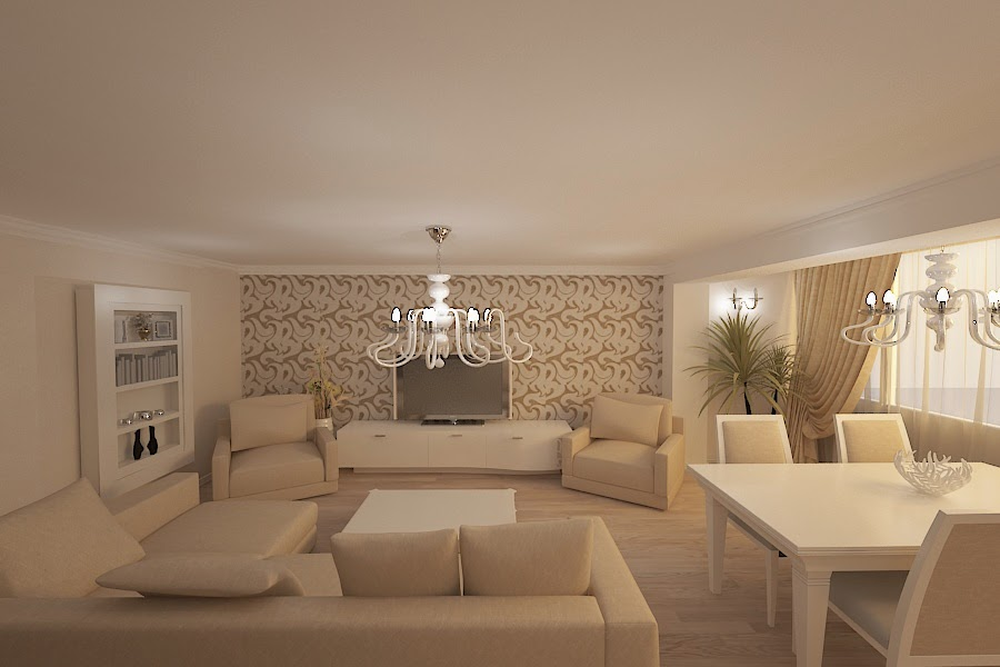 design interior apartament open space