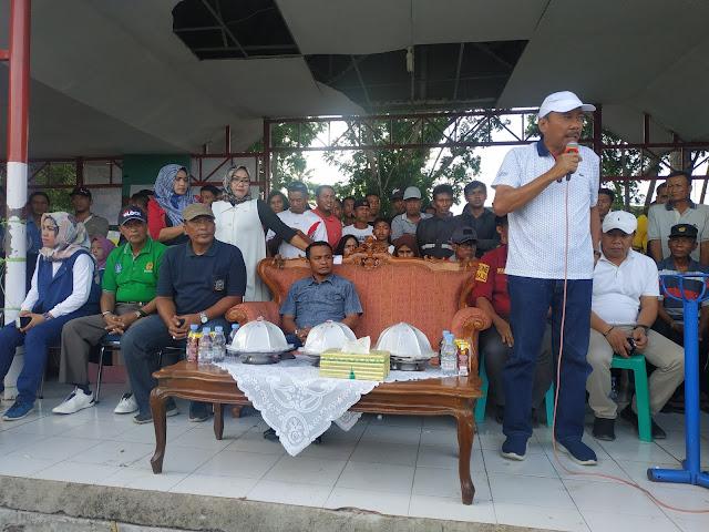 Tutup Turnamen Sepak Bola Ahmading-ST Rabiah Cup, Wabup Bone Janji Jadi Sponsor di Turnamen Berikutnya