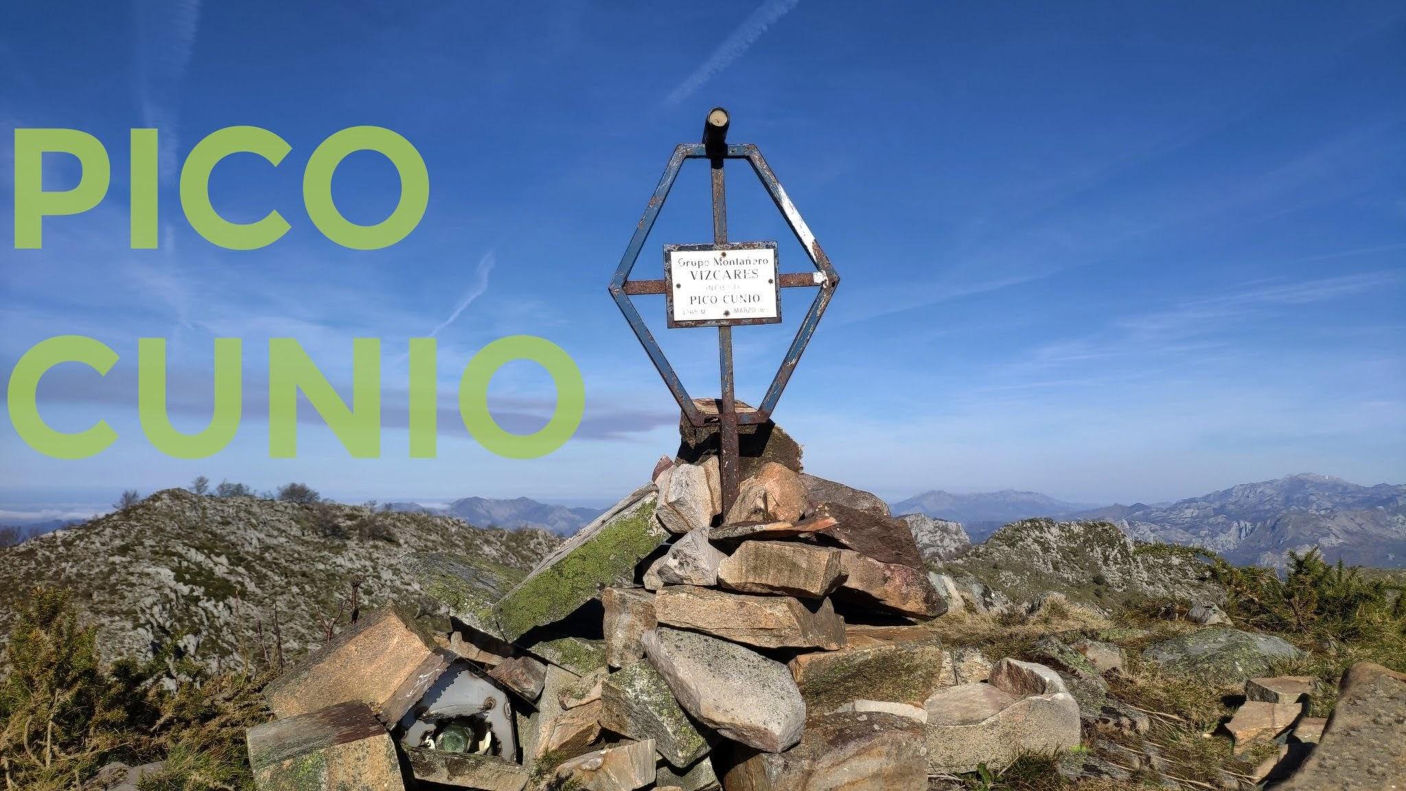 Buzón de cima del Pico Cunio, Ponga