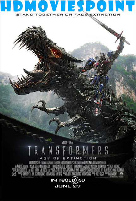 Transformers: Age of Extinction 2014 Full Hindi Movie Download Dual Audio