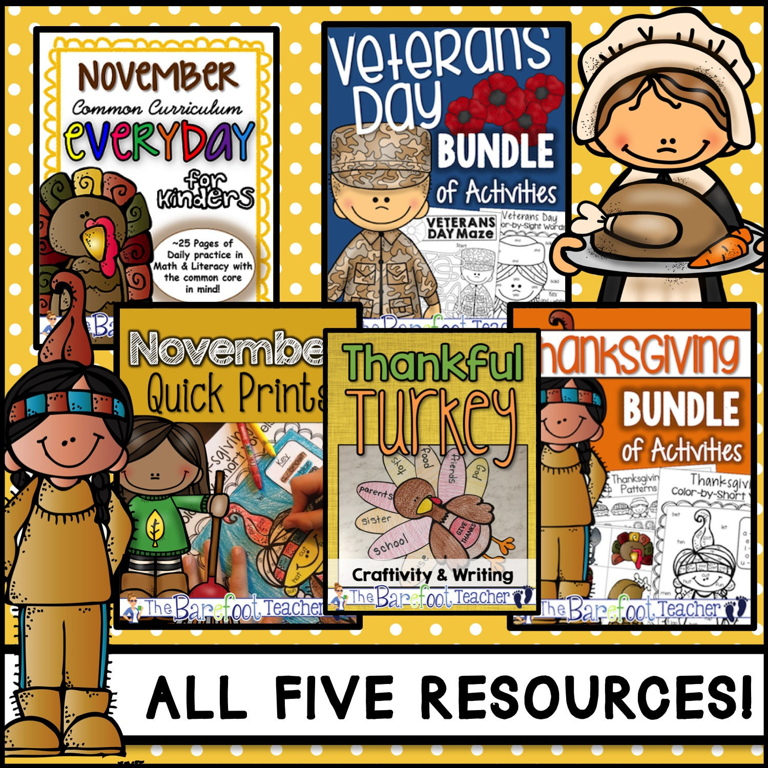 November Holidays Activities And Resources