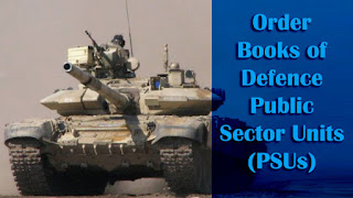 Order Books of Defence PSUs