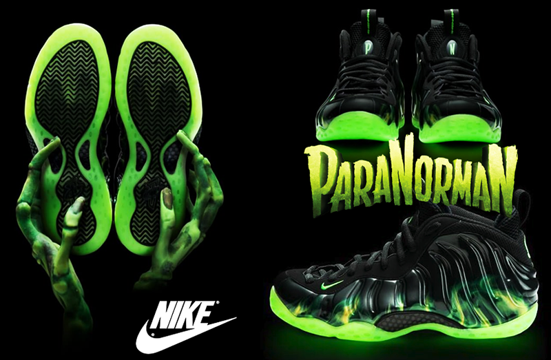 "info for 99780 0b041 NBA 2K14 Nike ""ParaNorman"" Foamposite One Shoes Patch ..."