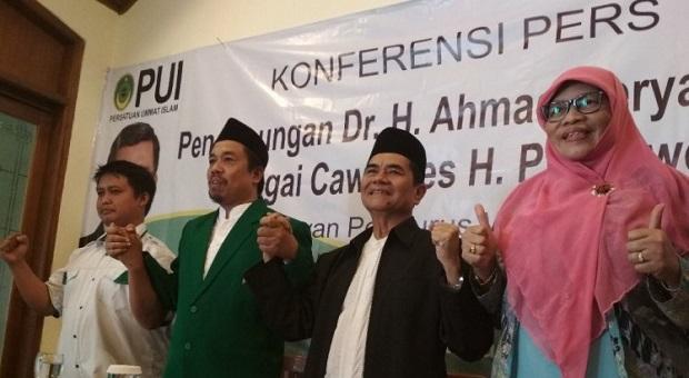 PUI Jabar Deklarasikan Ahmad Heryawan Jadi Cawapres Prabowo