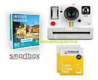 Logo ''Yomo la gioia di vincere'': vinci cofanetti Smartbox e Kit Polaroid