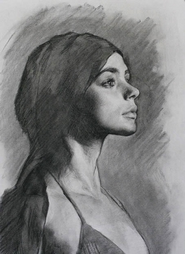 03-Helen-Louis-Smith-Charcoal-Portrait-Study-Drawings-www-designstack-co