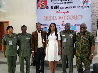 Linda Ikeji, Others Canvass Better Use Of Social Media At Nigerian Army Inter Agency Conference