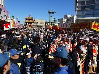 Chichibu Festival day