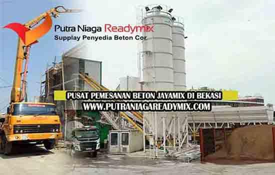 Harga Beton Jayamix Bekasi Per Meter Kubik & Per Mobil Molen 2020