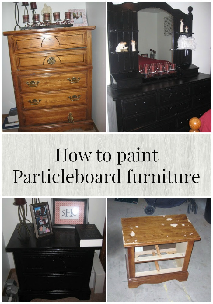 How To Paint Particleboard Furniture