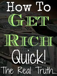 rich quickly in 2017
