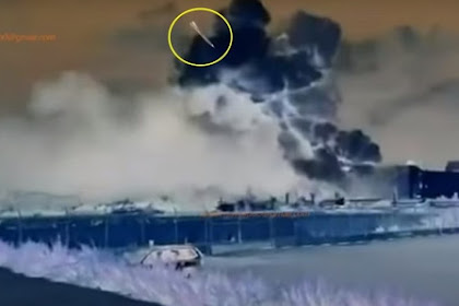 Klaim: Video 'inverse' Sebuah Roket Menghantam Pelabuhan Beirut Lebanon