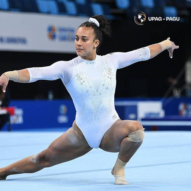 Ginasta Luciana Alvarado da Costa Rica se classifica para os Jogos Olímpicos