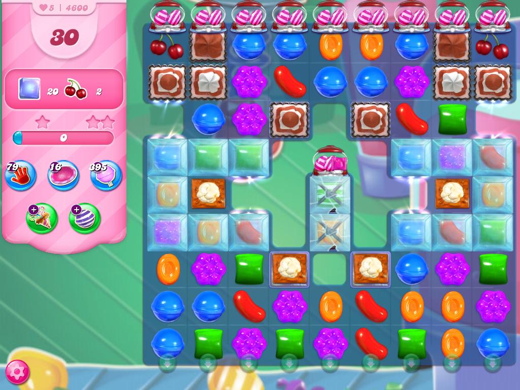 Candy Crush Saga level 4600