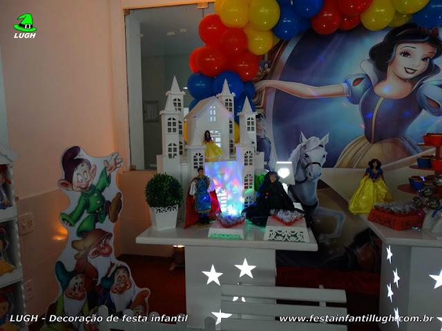 Decoração Branca de Neve - Festa infantil