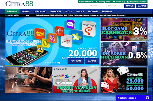 Tautan Idn Poker Citra88 |  Masuk idn Citra88 |  Daftar Akun Citra88