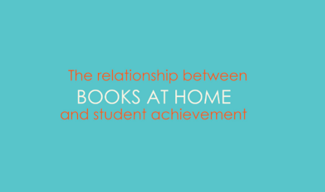 Do Books at Home Affect Academic Performance? #infographic