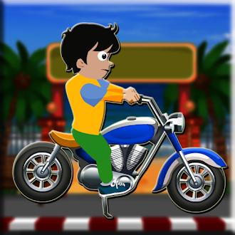 Games2Jolly Beach Road Bike Escape