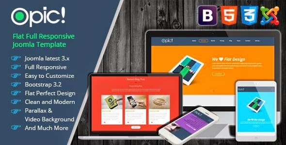 Best One Page Responsive Joomla Template