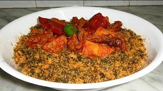 طريقة تحضير ملثوث بالبسباس- أكلة تونسية