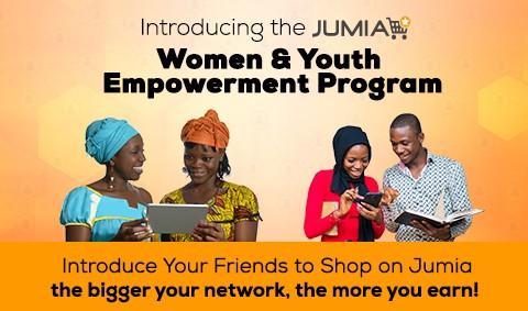 Jumia Women And Youth Empowerment Program, Start Earning 500 Naira Per Referral