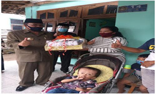 Walikota Blitar Beri Bantuan, Bagi Disabilitas, per Kelurahan Dikota Blitar