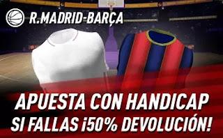 sportium promo euroliga Real Madrid vs Barcelona 11-3-2021