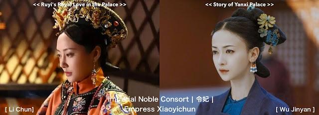 Imperial Noble Consort Li Chun Wu Jinyan