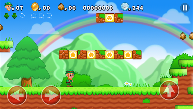 We all loved playing Mario in our childhood. This game gives player to get back the memories of playing Mario & is really addictive to play. Lep's World features 8 well designed levels, fabulous animations & graphics, 9 challenging enemies & more. Download now from the AppStore.